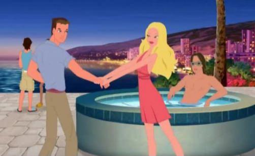 Барби и подружки в голливуде кадры из