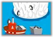 Penguin panic icon