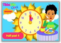 Tikkabilla Clock