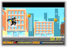 Static Shock Sky Surfing Game icon