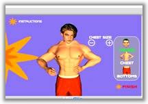 Играть во flash игру можно собирать по кусочкам тела и подставлять