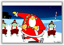 Nasty Santa In Breakin
