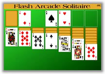 Flash Arcade Solitaire