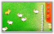 Собака и овечки
