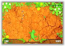 Lenny The Lizard Desert Swarm