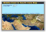 Middle East and South Asia Map